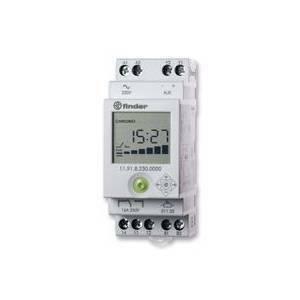 Schema Elettrico Interruttore Crepuscolare 230v : Finder rele crepuscolare interruttore orario integrato