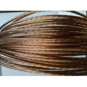 rame corda di rame elettrolitico nudo sezione 16 mmq