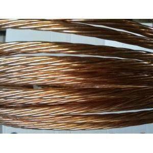 rame corda di rame elettrolitico nudo sezione 35 mmq