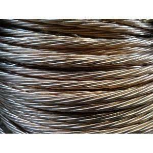 rame corda di rame elettrolitico nudo sezione 50 mmq