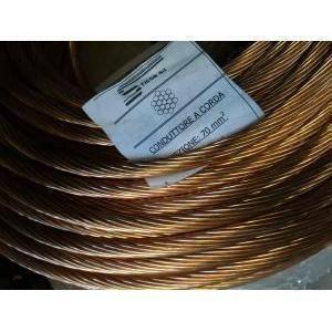 rame corda di rame elettrolitico nudo sezione 70 mmq