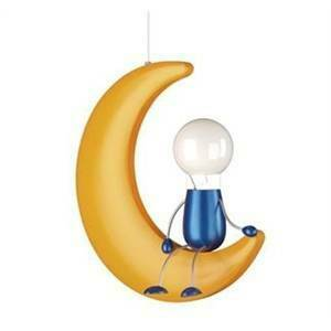 massive lampadari : massive lampadario a sospensione mezzaluna per bambini lunardo ...