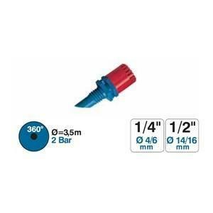 karcher microirrigatore 360° in blister 5 pezzi 9646033
