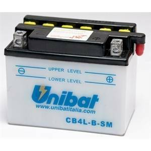 batterie batterie batteria per moto e scooter 56a 12v 4ah cb4l-bsm