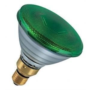 philips philips lampada incandescente 80w attacco e27 colore verde 80par38flve