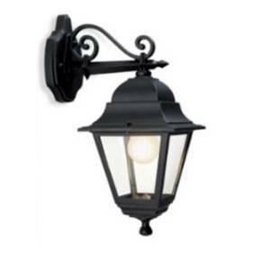 sovil sovil lampada da giardino quadrata nera 988/068020588688065