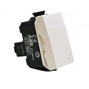 abb abb interruttore serie chiara 1polo 10a colore bianco 2csk1001ch