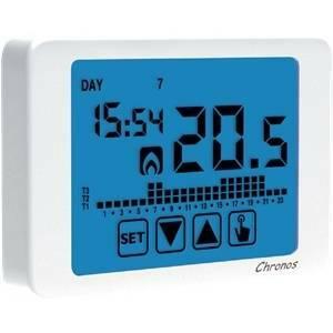 vemer vemer cronotermostato digitale settimmanale touch screen ve451100