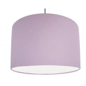 paralumi nencini paralume cilindro diametro 50cm colore lilla attacco e27 60w 9881