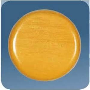 gambarelli rosoni 60mm diametro rovere tonda blister 2 pezzi 01101/b2