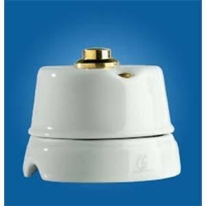 gambarelli pulsante ottone e porcellana per campanello 00130