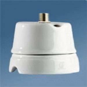 gambarelli presa satelitare tv in porcellana colore bianco 00242