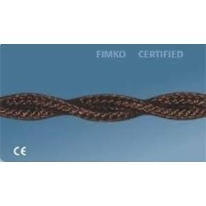 gambarelli cavo treccia 3x1 10 metri colore marrone 34308bli