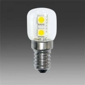 marino cristal lampadina tubolare led 1w attacco e14 luce calda 21021