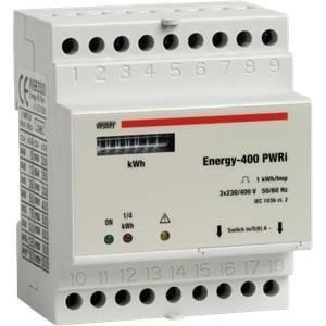vemer vemer contatore energia trifase 400v energy-400 pwri vn963500