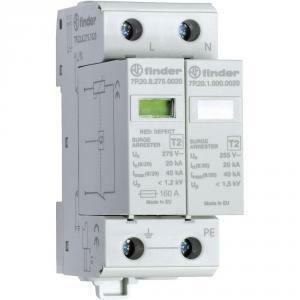 finder scaricatore di tensione monofase con spinterometro a gas 7p.22.8.275.1020 7p2282751020