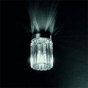 de majo de majo plafoniera soffitto cromo lucido cristallo charlotte p1 0char0p10