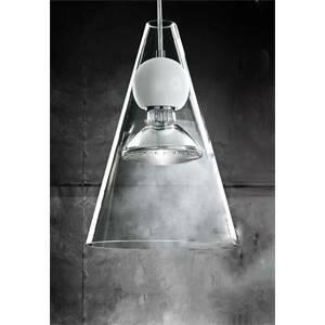 de majo de majo sospensione soffitto cristallo trasparente sfera gemma s1 0gemm0s-1