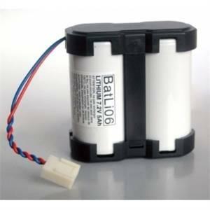 logisty hager logisty hager batteria al litio 7,2v 5 ah per centrali e serene batli06
