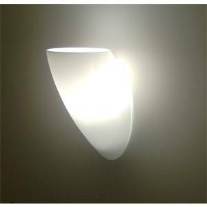 de majo de majo applique parete vetro bianco satinato peroni a1 0pero0a01