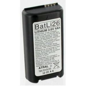 logisty hager logisty hager batteria al litio 3,6v 4 ah per apparecchiature hager e logesty batli26