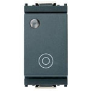 vimar idea pulsante 1p no 10a generico luminoso grigio 0r16090