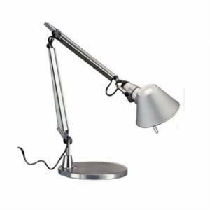 artemide artemide lampada da tavolo bracci mobili tolomeo micro alluminio a011800lampade