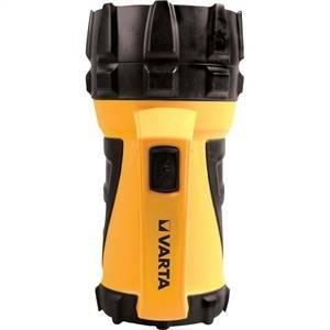 varta torcia portatile industrial beam lantern resistente all' acqua 17652101111