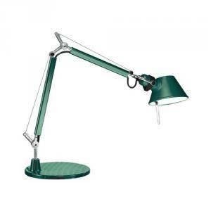artemide lampada da tavolo bracci mobili tolomeo micro verde a011880