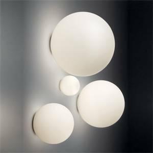 Artemide plafoniera da parete soffitto sfera diametro 35cm dioscuri 0116010a - Artemide lampade da parete ...