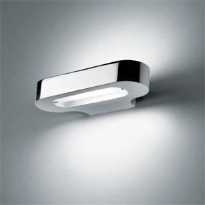 artemide lampada talo halo biemissione colore cromo lucido 120w attacco r7s 0613030a