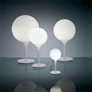 artemide artemide lampada da tavolo sfera castore diametro 35cm 1049010a