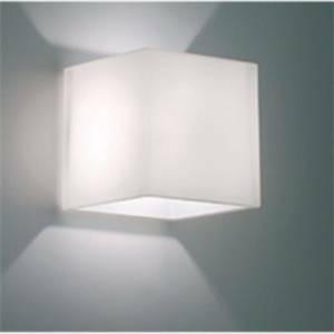 egoluce cubo parete bianco 60w g9 4282.57