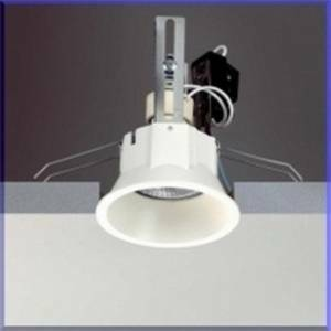 egoluce faretto tappo luce arretrata 230v colore bianco attacco gu10 6329.01