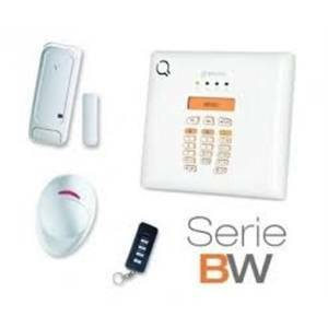 bentel kit allarme senza fili base antifurto radio 30 zone bebw30-k