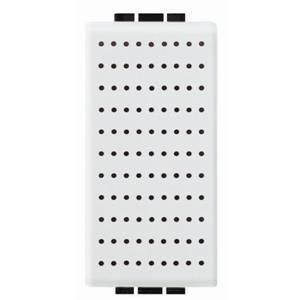 bticino livinglight ronzatore 230 vac 8va 75db colore bianco n4356/230