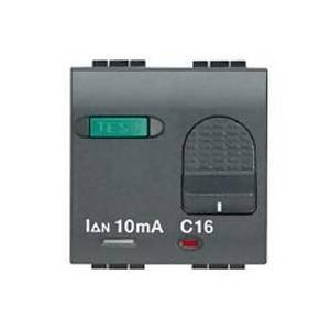 bticino bticino living international interruttore magnetotermico differenziale salvavita 16a l4305/16