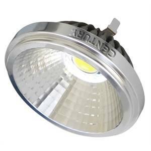 g lampadina : century lampadina led g53 12w qr111 luce calda cl-122430