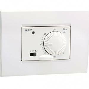 vemer termostato keo-b da incasso a batterie vn170700