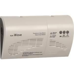 vemer rilevatore di gas metano a parete rgm wave bianco vn783700