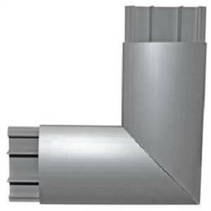 arnocanali angolo piano per canala kp1873 colore alluminio kpw1873a