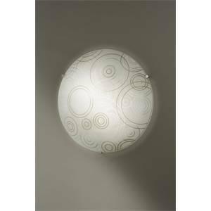isoluce lampada parete soffitto serie compasso diametro 40cm2000-20-130