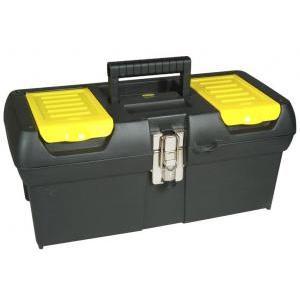 stanley cassetta serie 2000 con cerniera metallo e 2 organizer e vaschetta 192065