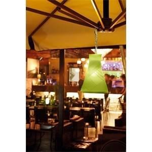 lombardo lampada bell 3 silicone 33w colore verde lb2322v