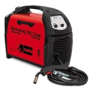 telwin saldatrice inverter a filo technomig 230v 150 dual synergic 816050