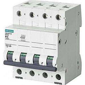 siemens interruttore magnetotermico icu 6ka 4 poli 25a 5sl6425-7bb
