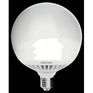 century lampadina globo led 24w attacco e27 luce calda arb-242730