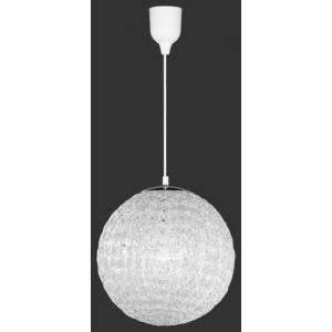 trio lighting italia sospensione a sfera acryl trasparente 307800100