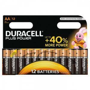 duracell 12 batterie stilo aa 1,5v d mn1500