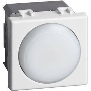 bticino torcia emergenza estraibile 2 moduli colore  bianca a5780n